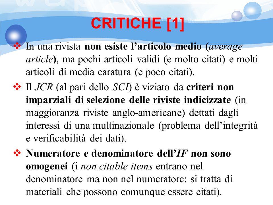 CRITICHE [1]
